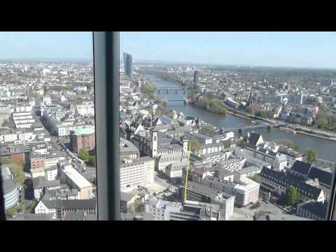 Panoramic Elevator Ride - Commerzbank Tower