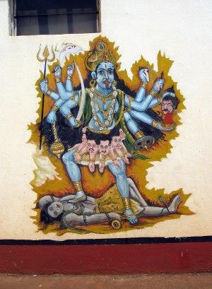 Kali indische Götter
