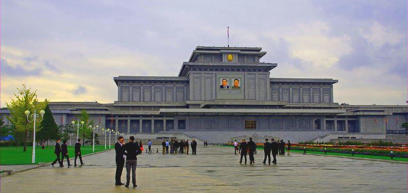 beliebtesten Touristen Attraktionen Pjöngjang