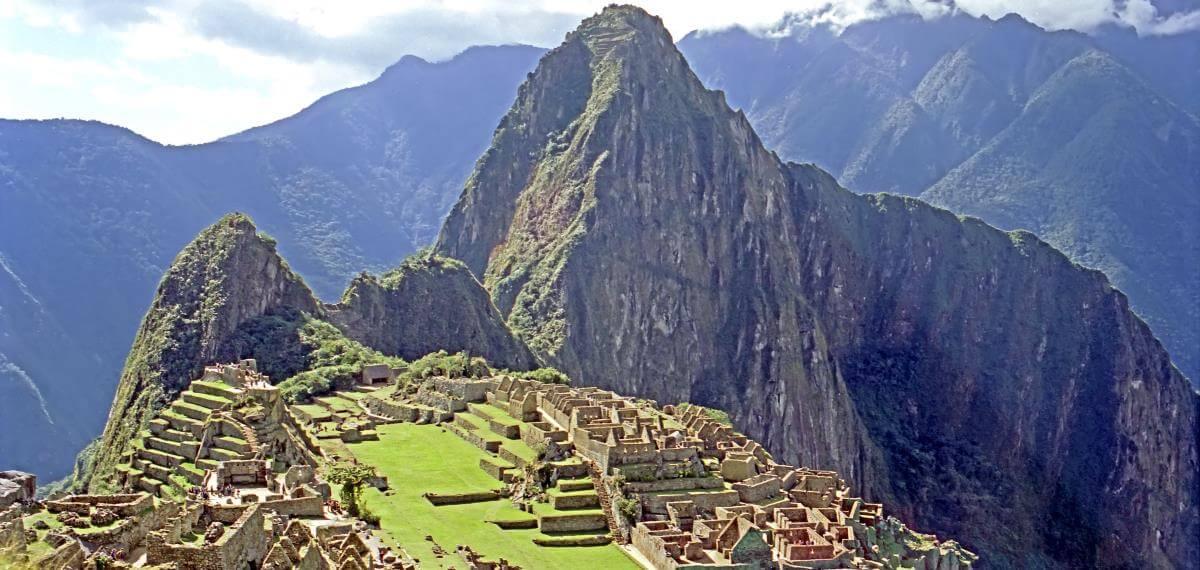 Machu Piccu Ruinen