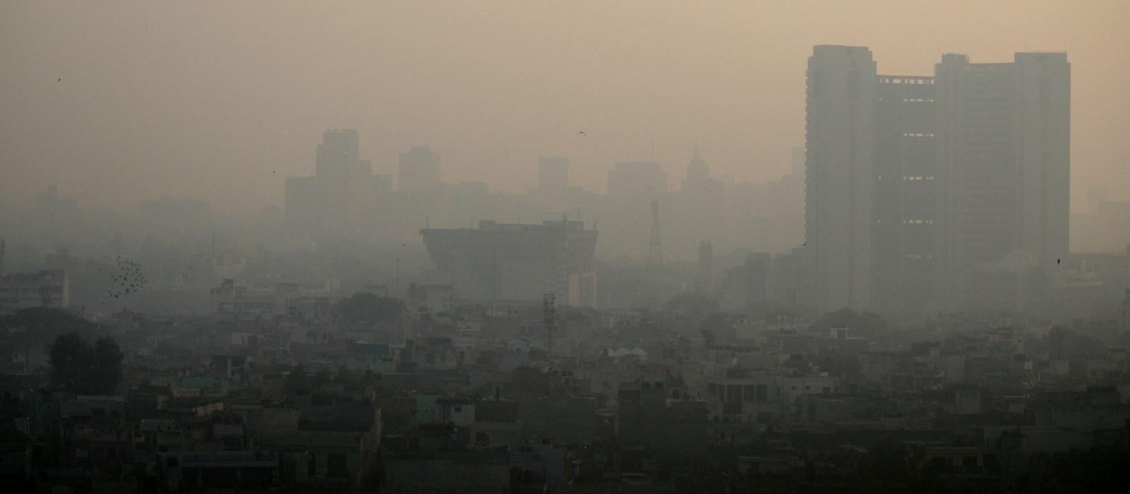 Delhi im Smog