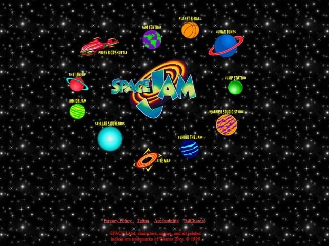 alte Webseite aus den 90ern Retro