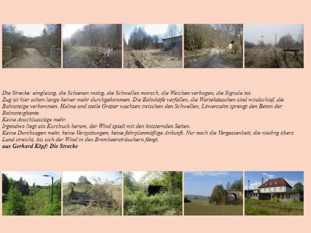 Fotos von vergessenen Bahnen alte Seite