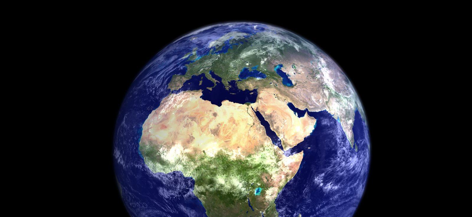 Erde vom Weltall