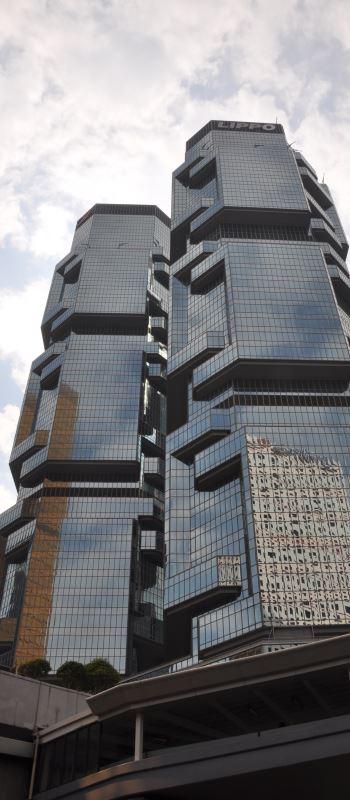 futuristischer Wolkenkratzer