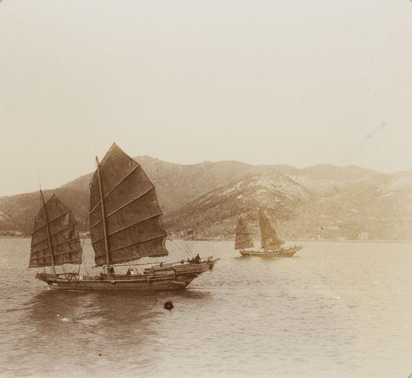 Foto kleines schiff