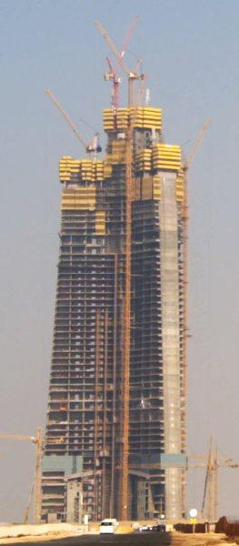 Wolkenkratzer im Rohbau