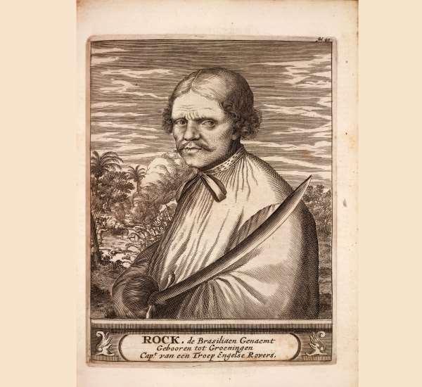 Porträt eines Piraten