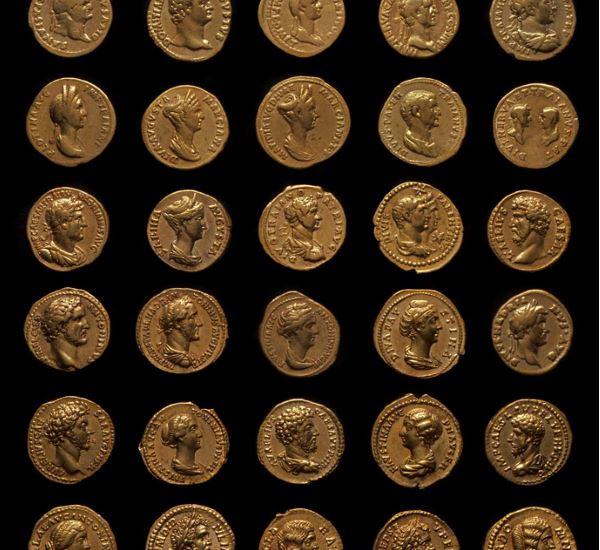 noch mehr römische Goldmünzen