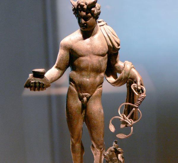 kleine Figur aus Bronze