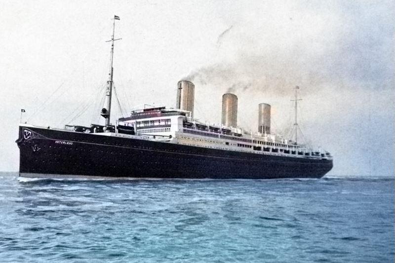 das grösste Dampfschiff