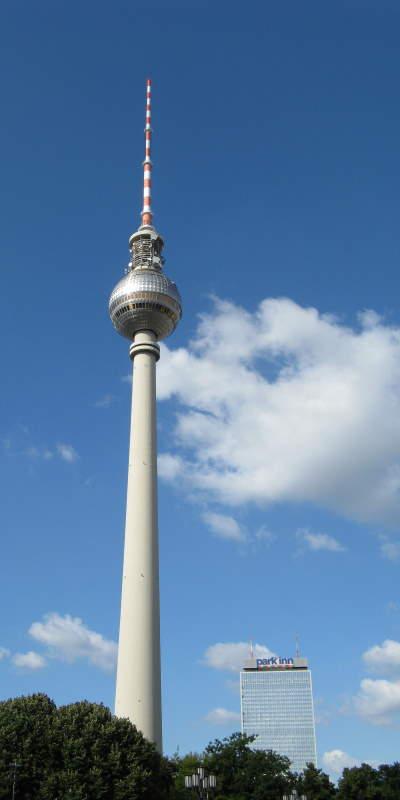 höchster Fernsehturm in der Sonne